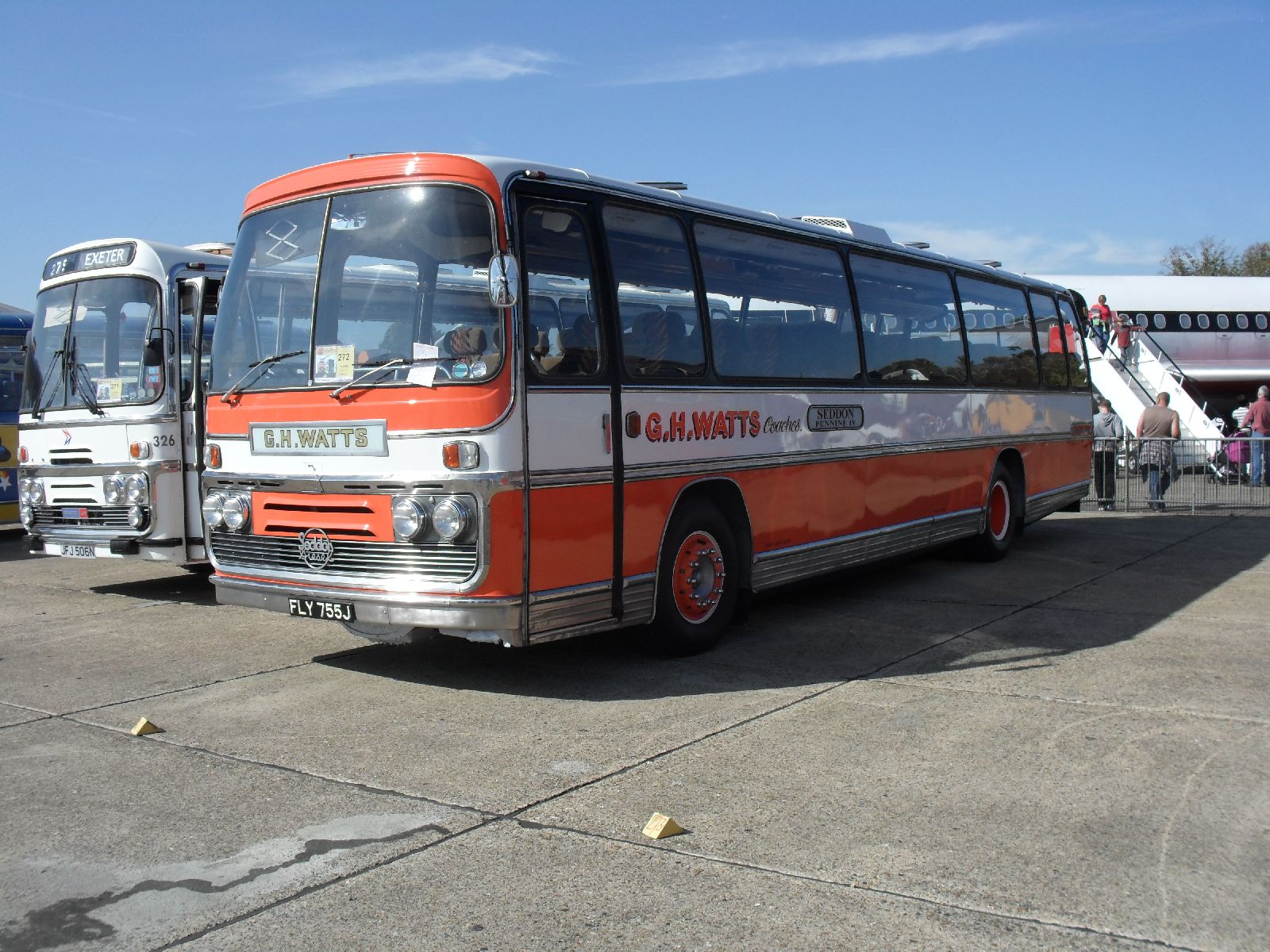 File G H Watts Coaches Coach Fly 755j Showbus Rally