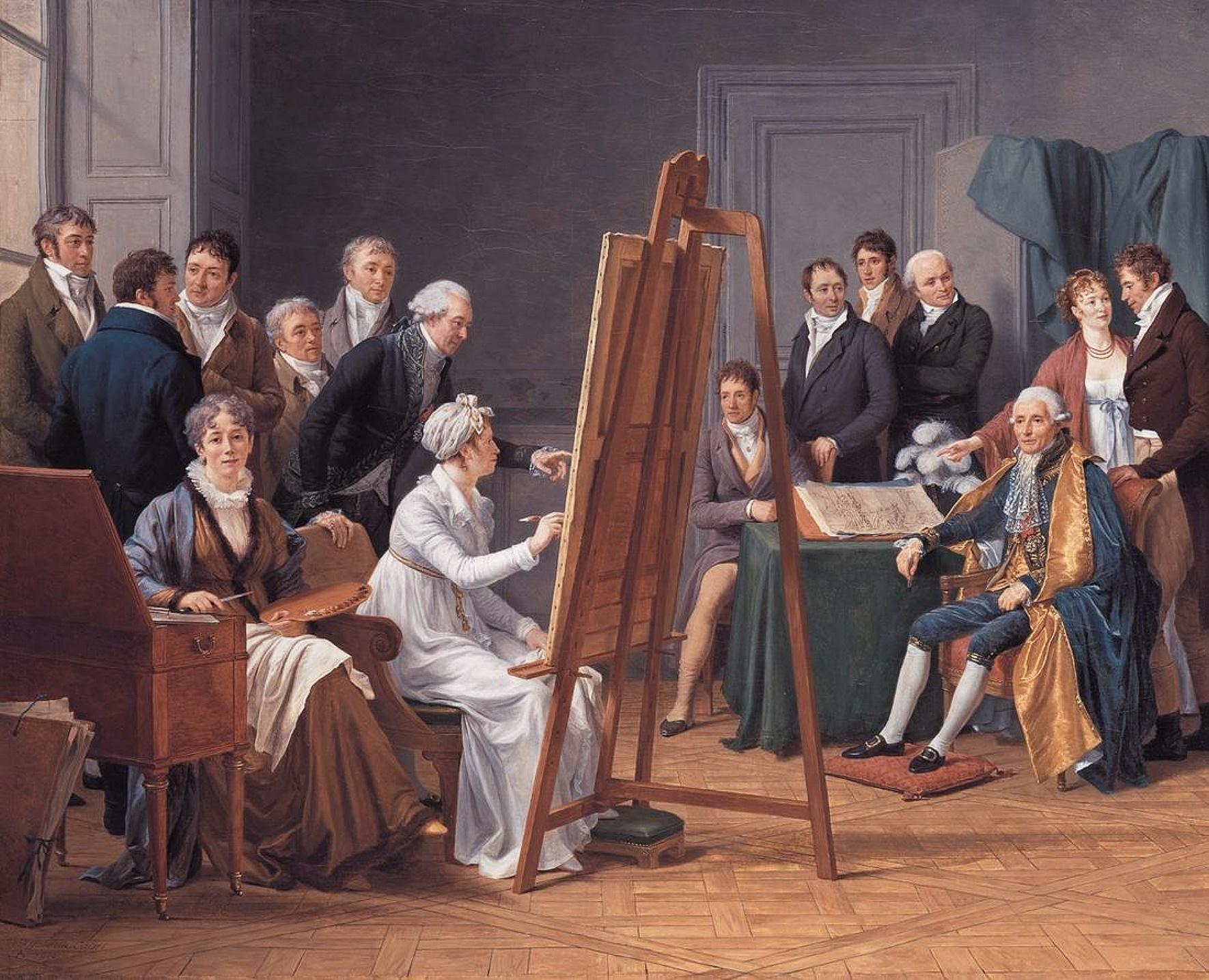 Istorija odevnih predmeta - Page 7 Marie-Gabrielle_Capet_-_Atelier_of_Madame_Vincent_-_1808