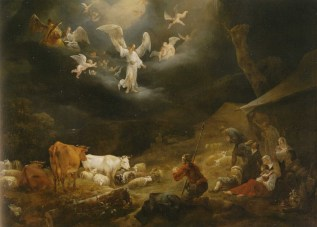 Nicolaes Berchem - Annunciation to the Shepherds