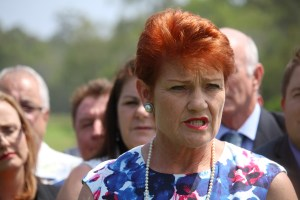 Senator Pauline Hanson - By jfish92 (Own work) [CC0], via Wikimedia Commons