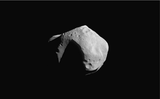 Asteroid 253 Mathilde (not the one headed toward Earth) | Image: Wikipedia