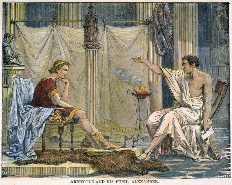 アリストテレスの画像