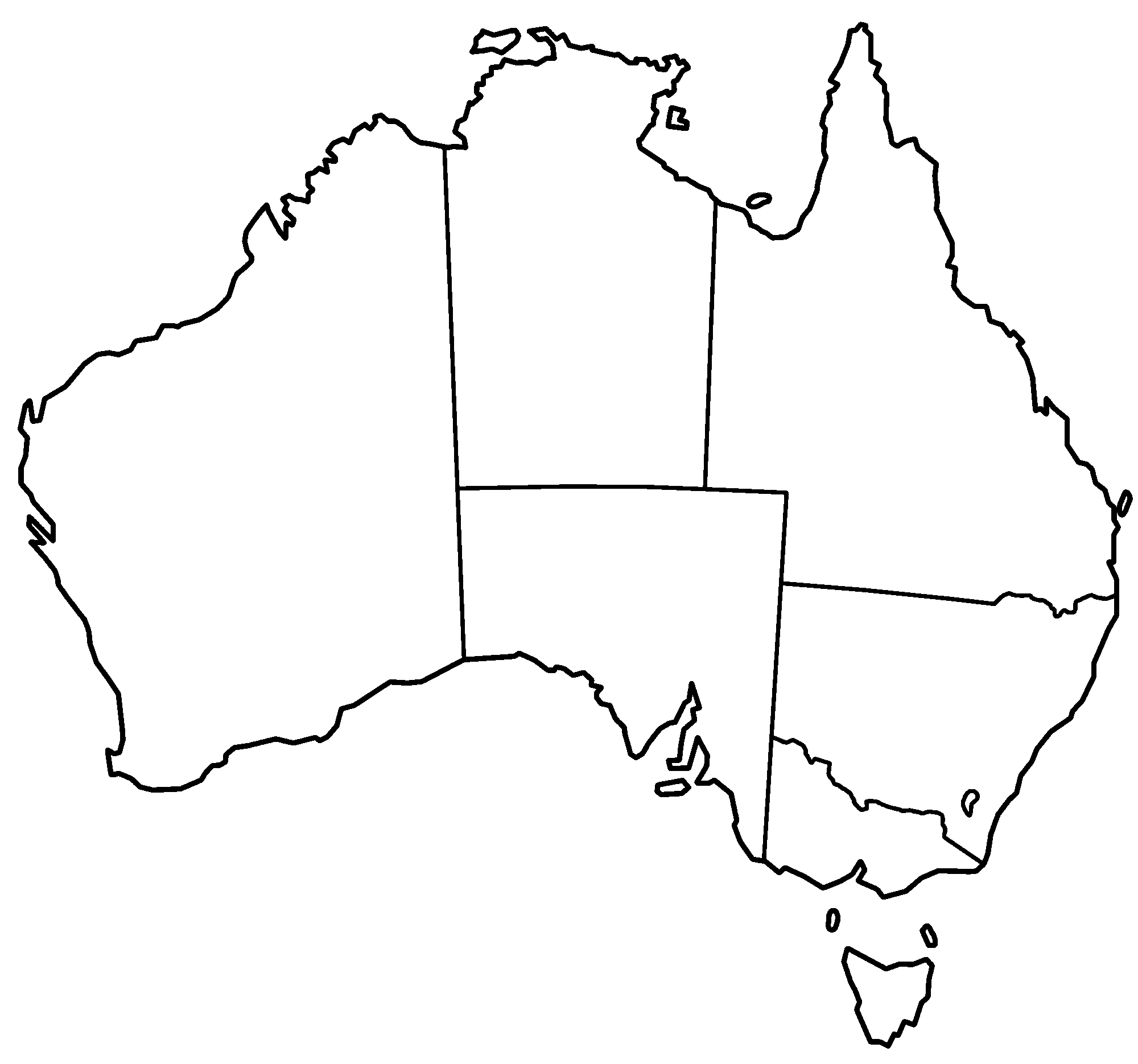 An Australian Was Asked To Label The 50 States Funny