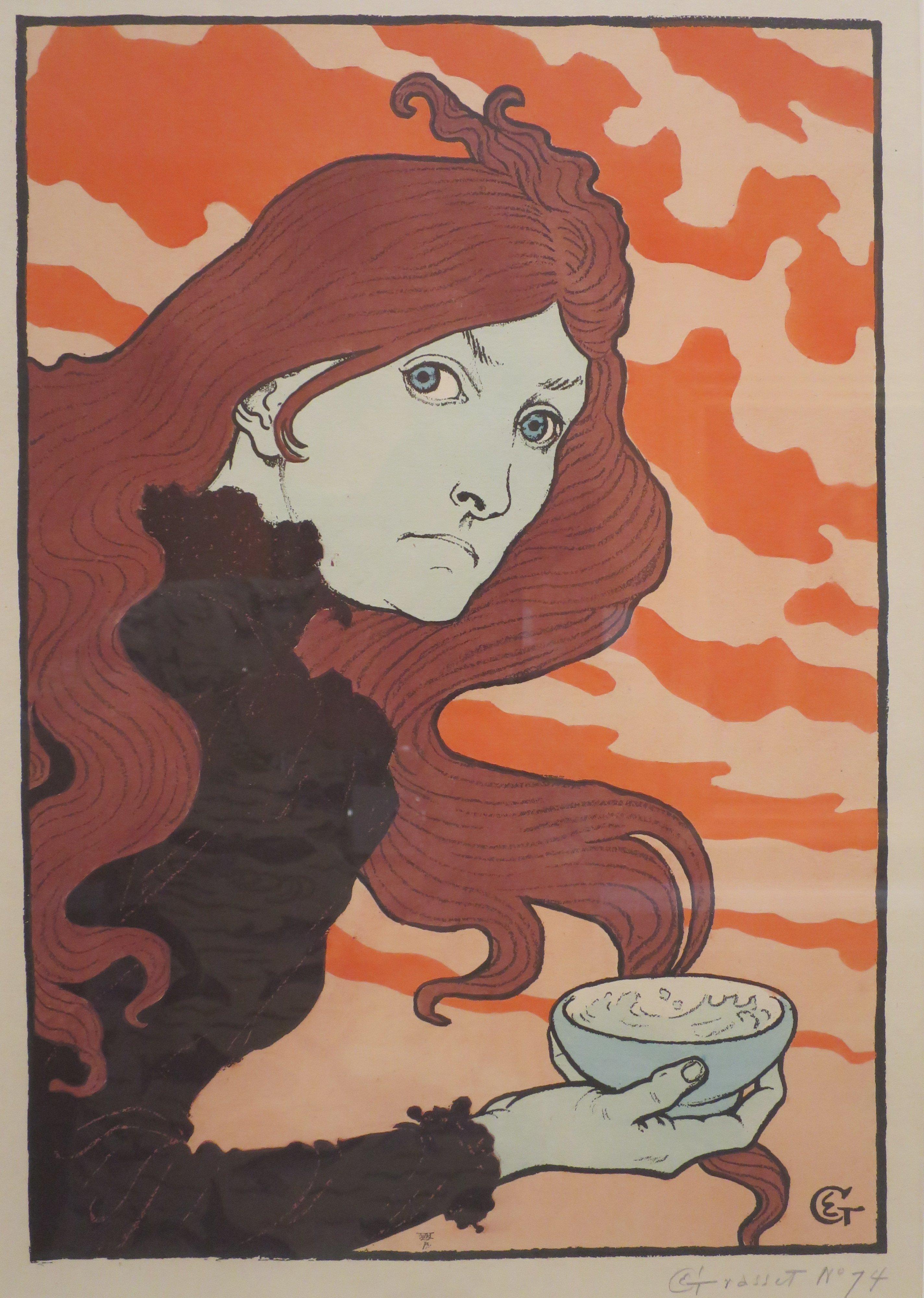 La Vitrioleuse by Eugene Grasset, 1894 (Wikimedia Commons)
