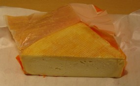 Tarte Maroilles / Maroilles Cheese Tart (1/2)