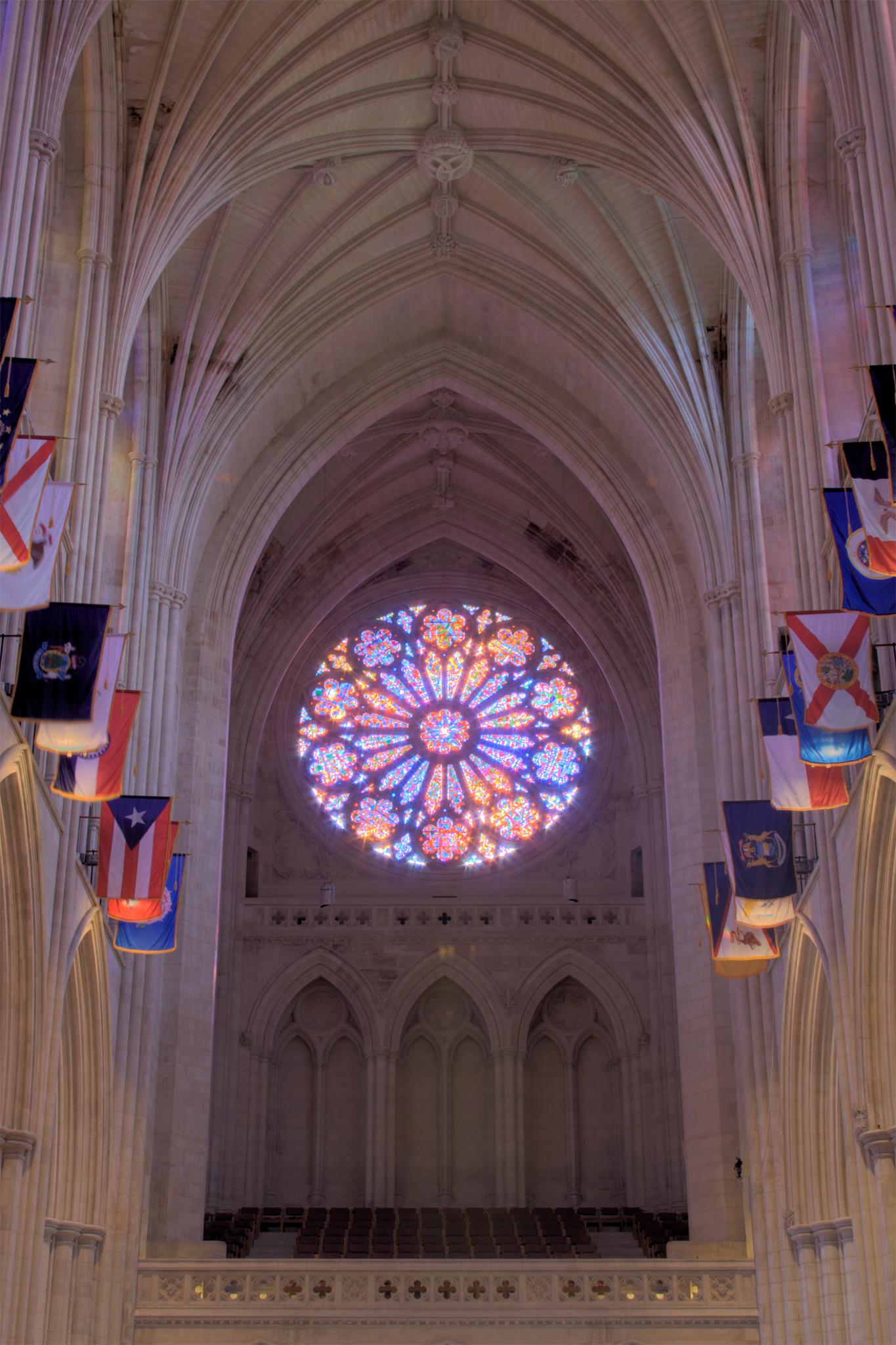 File Rose Window Washington National Cathedral