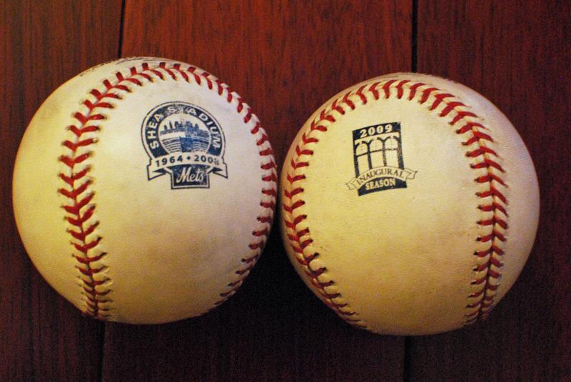 Shea Stadium, Citi Field, Mets, New York Mets, Baseballs, Speciality Baseballs, MLB, Mets Baseballs, Bets Baseball