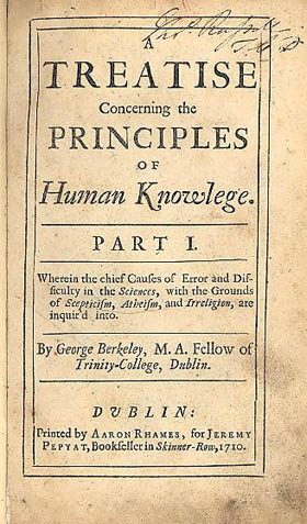Treatise Concerning the Principles of Human Kn...