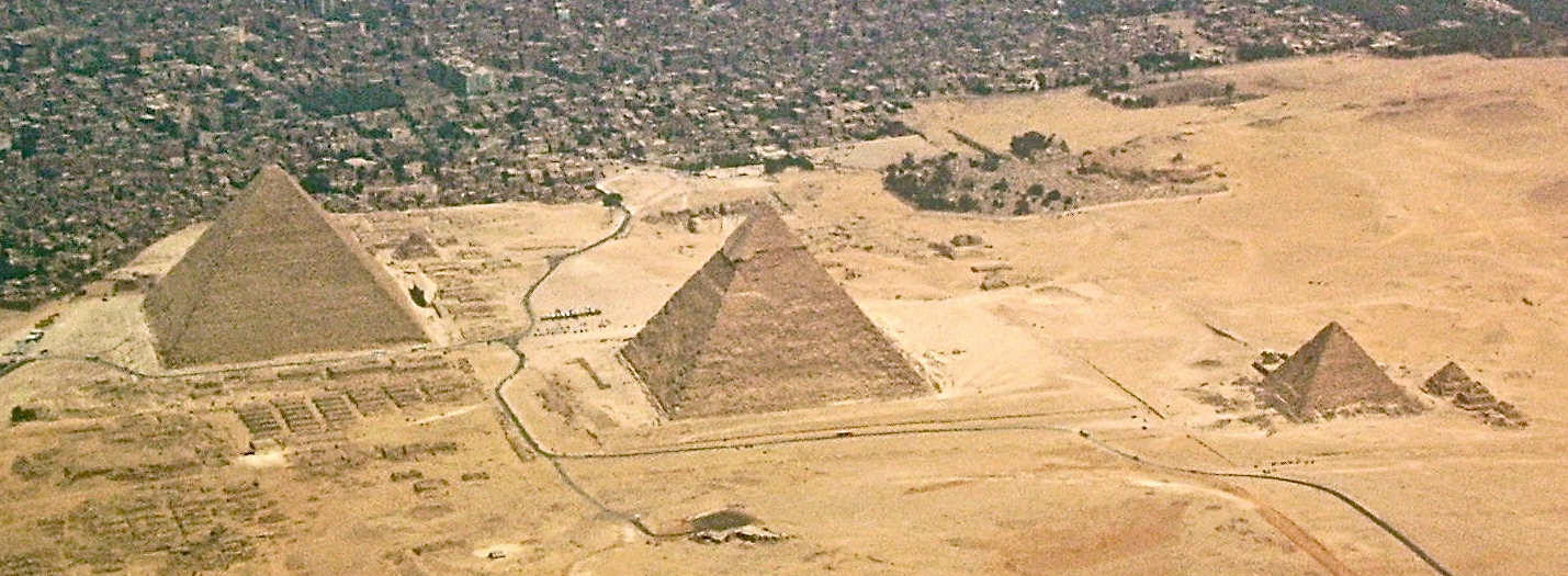 English: The Giza-pyramids and Giza Necropolis...