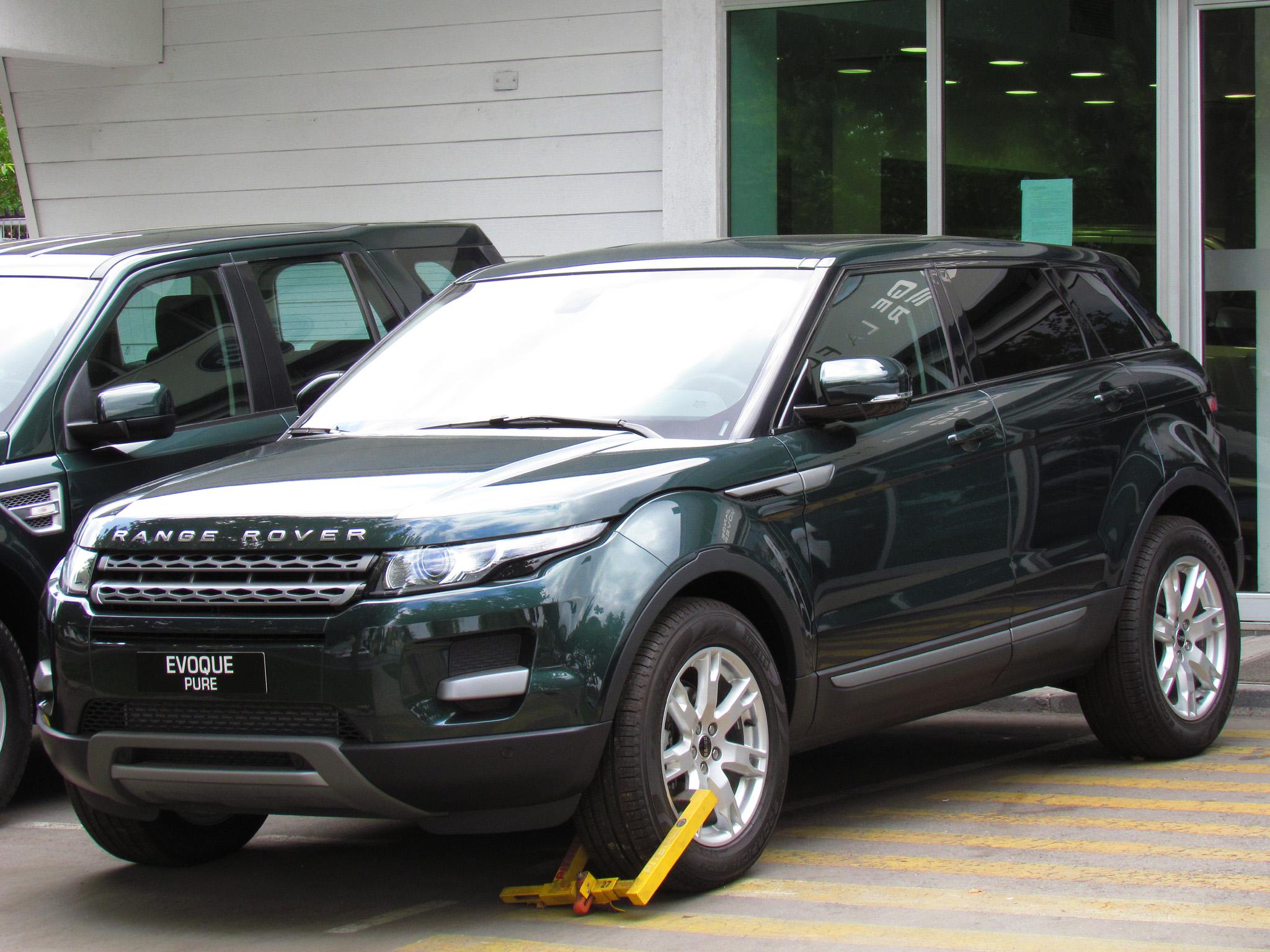 File Land Rover Range Rover Evoque Si4 Pure 2012