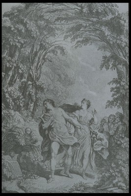 An illustration for the title page of the 1774...