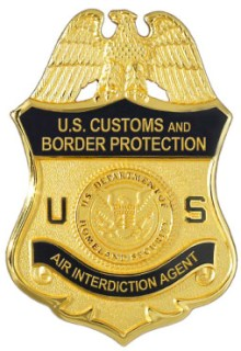 U.S. Customs and Border Protection Air Badge