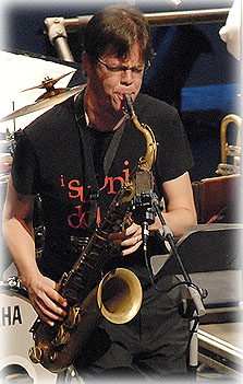 English: Donny McCaslin with Maria Schneider O...