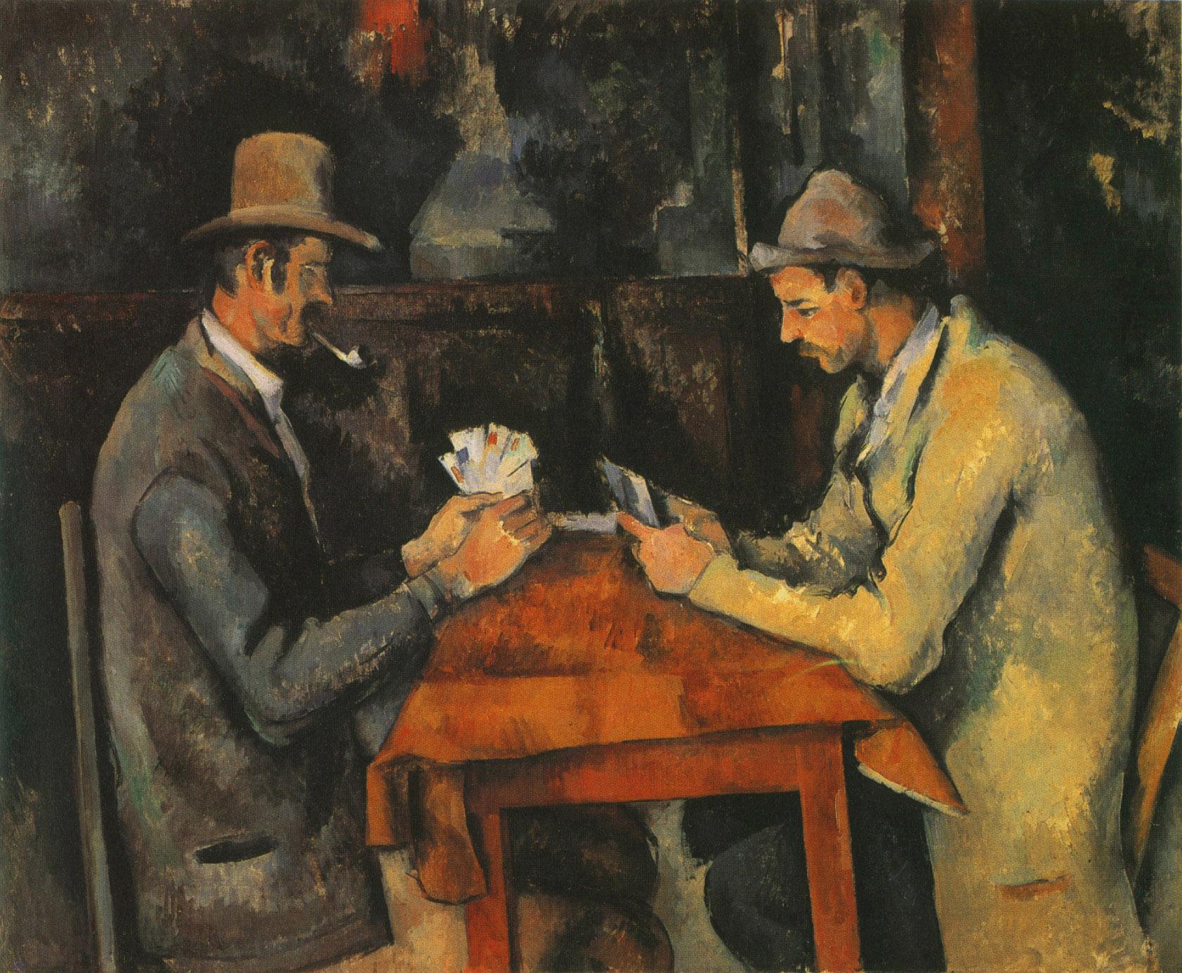 Paul Cézanne: The Card Players
