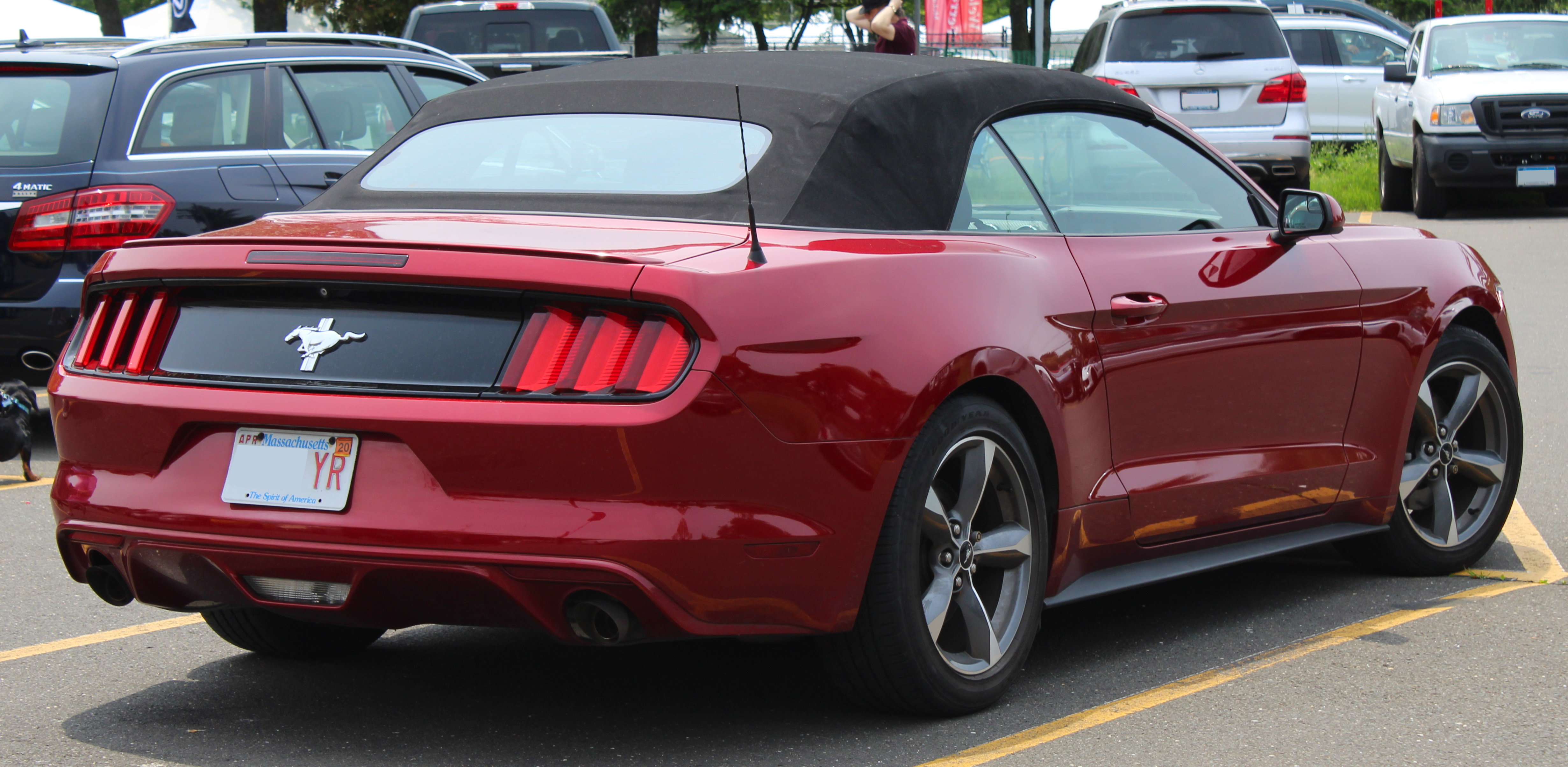 https commons wikimedia org wiki file 2015 ford mustang convertible 3 7l v6 rear hagerty 6 1 19 jpg