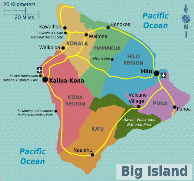 Image result for hawaii regions