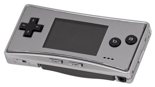 Resultado de imagen de Game Boy micro