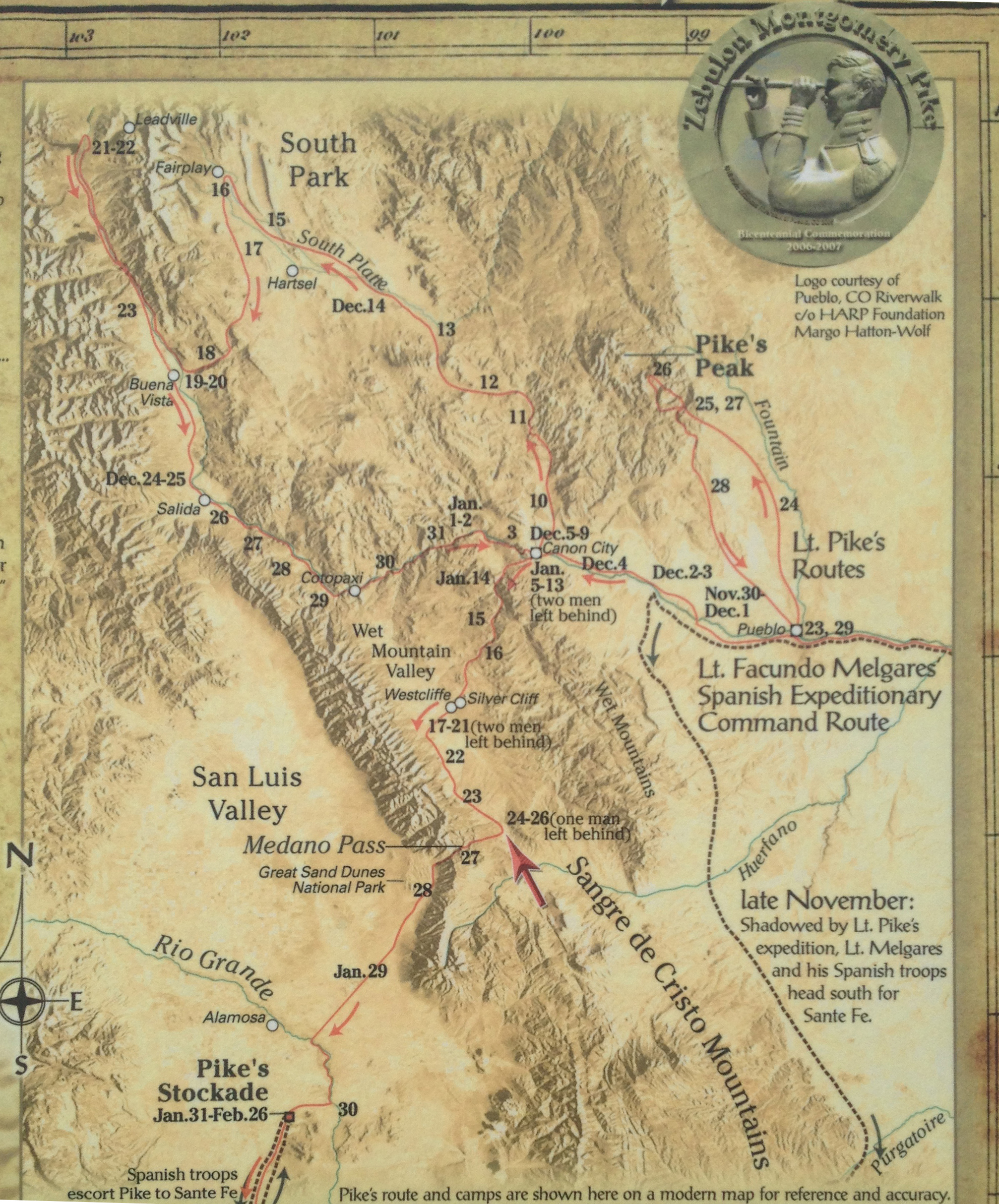 File Map Of 07 Pike Expedition In Colorado