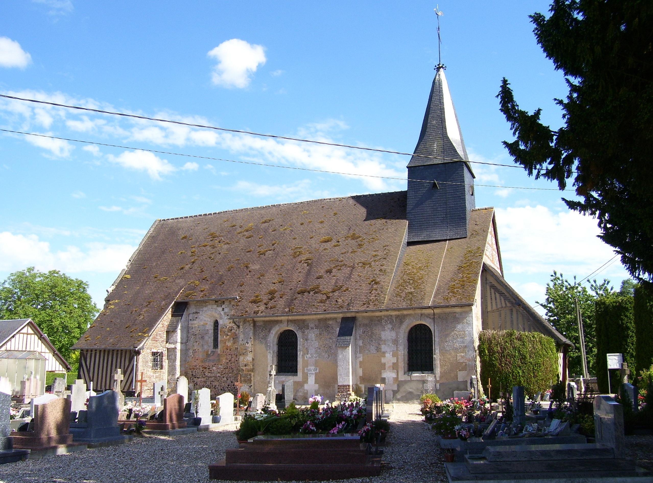 authou église saint-aubin