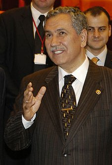 Bulent Arinc, Turkish politician, ANKARA. With...