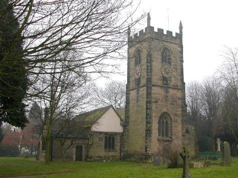 Foleshill. Church of St Laurence