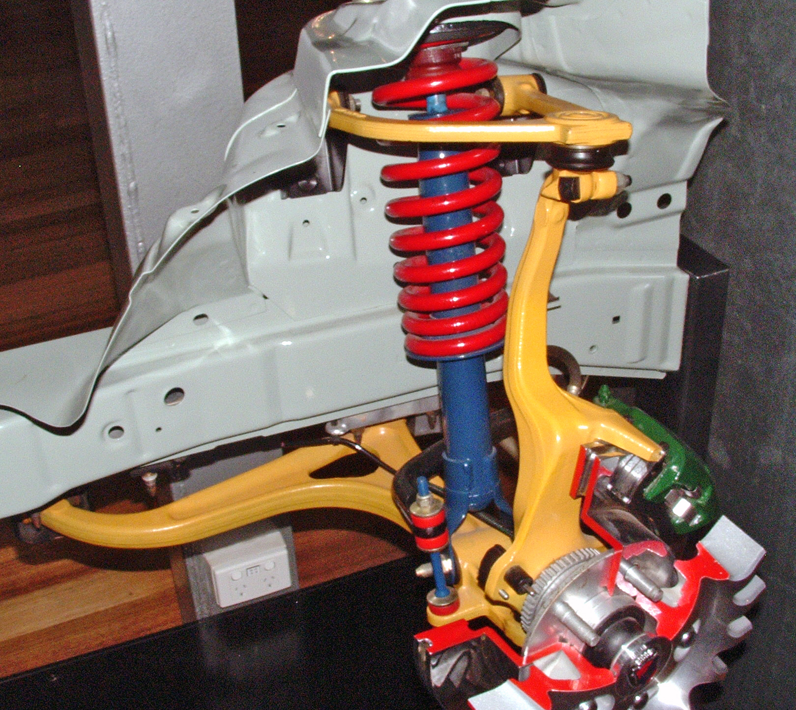 Honda Odyssey Rear Suspension Diagram