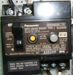 Earth leakage circuit breaker  Wikipedia