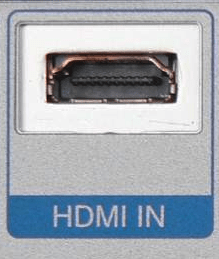 A female HDMI connector