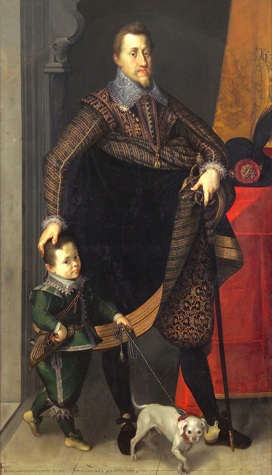 Ferdinand II, Holy Roman Emperor and King of Bohemia. Josef Heinz (1564-1609).