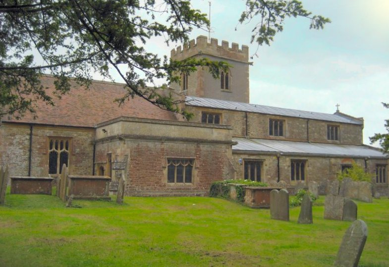 Holy Cross Church, Chiseldon, Wiltshire from the West
