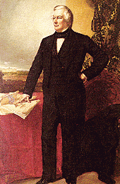 English: Millard Fillmore White House portrait