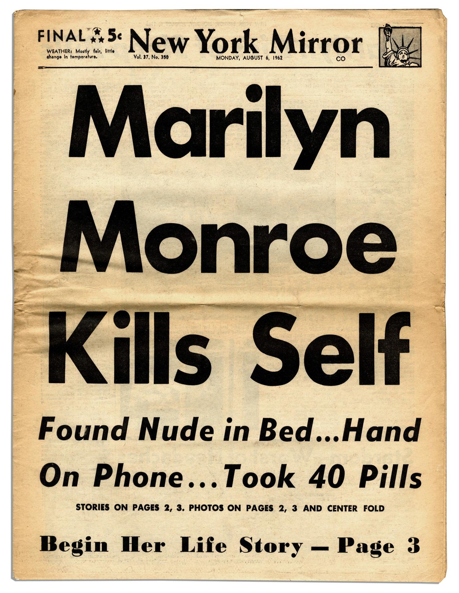 Of Marilyn Monroe