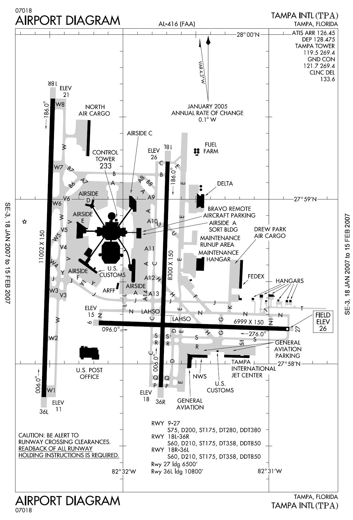 Tpa Tampa International Airport