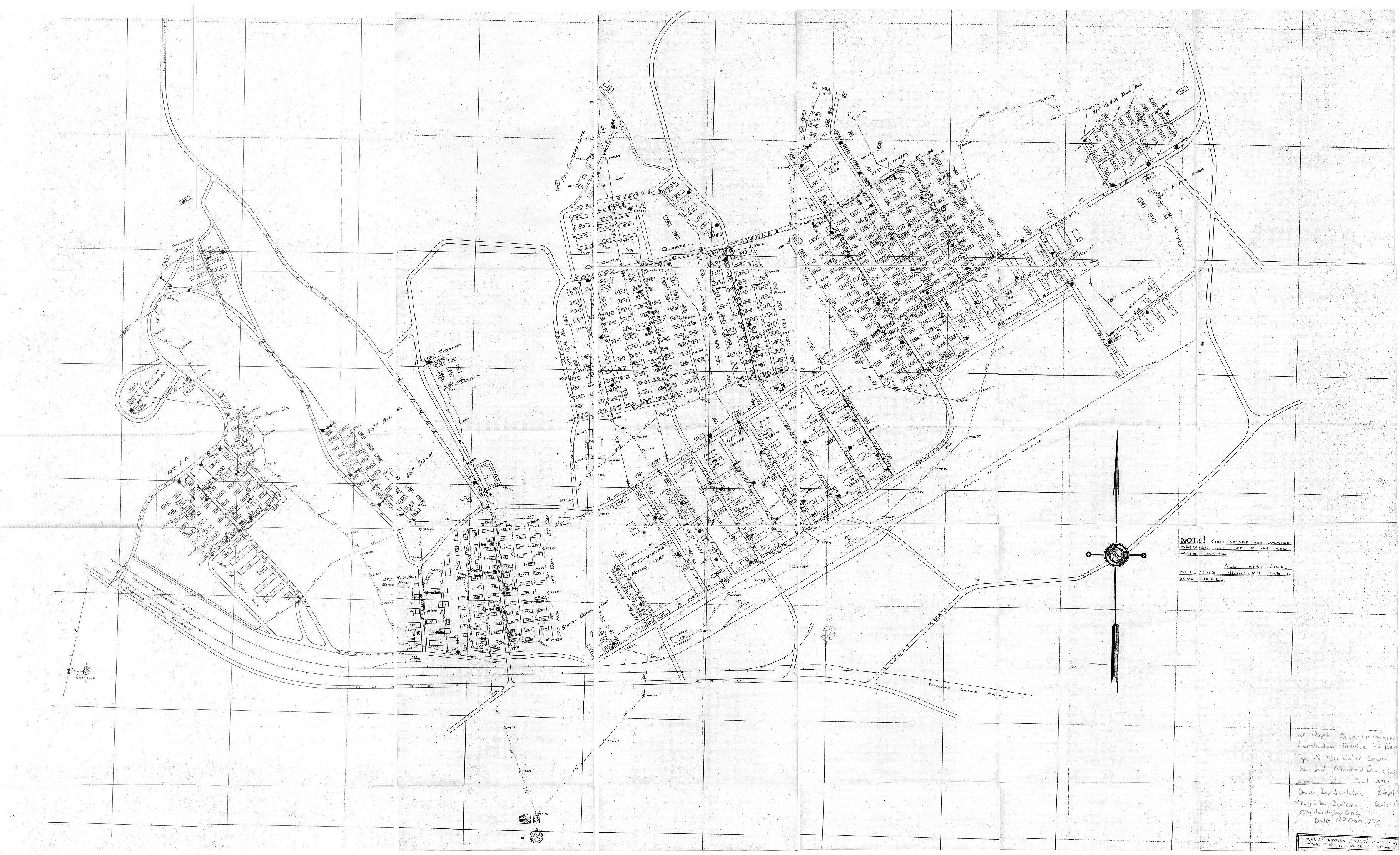 Fort Benning Georgia Map