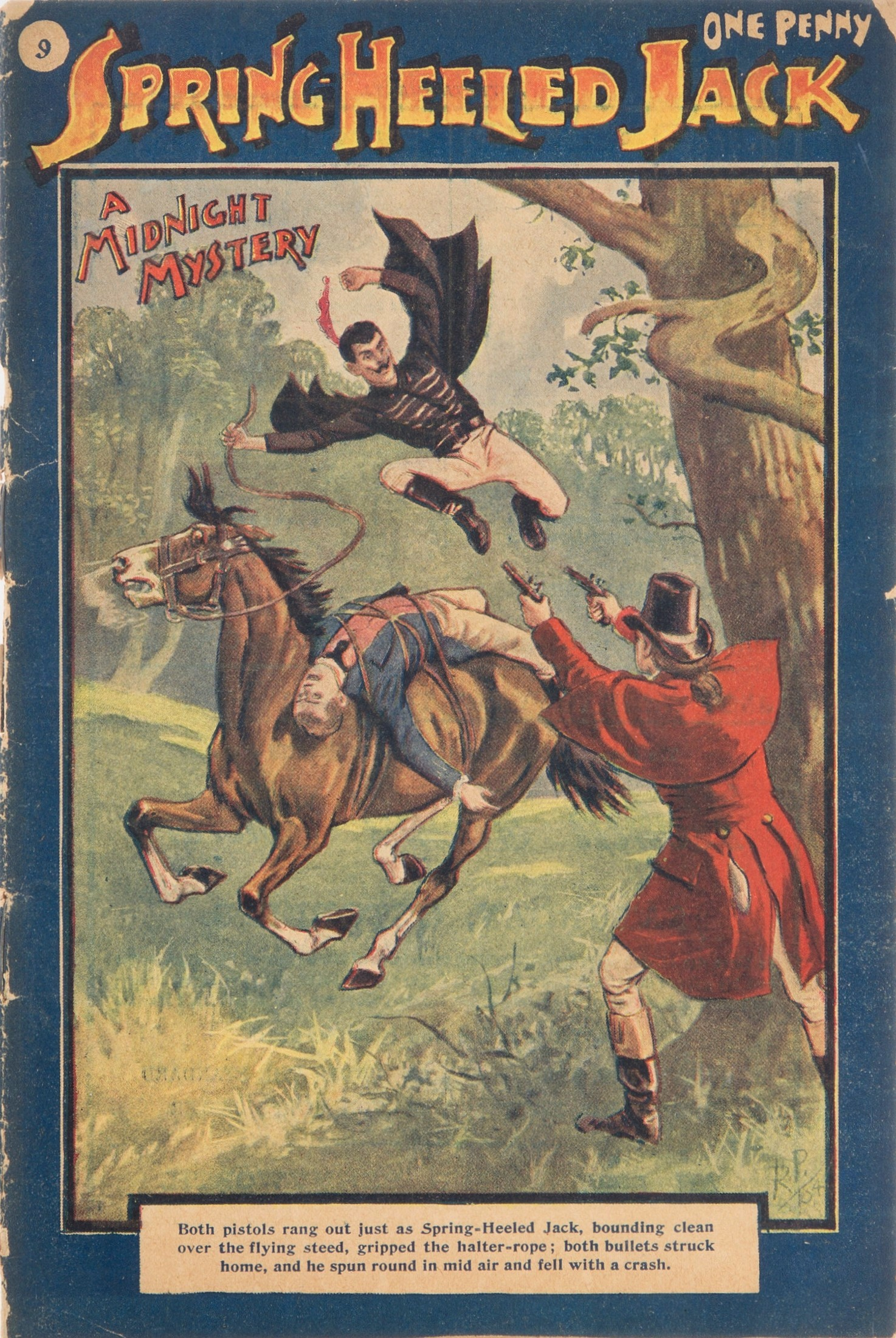 Spring Heeled Jack as depicted by an anonymous...