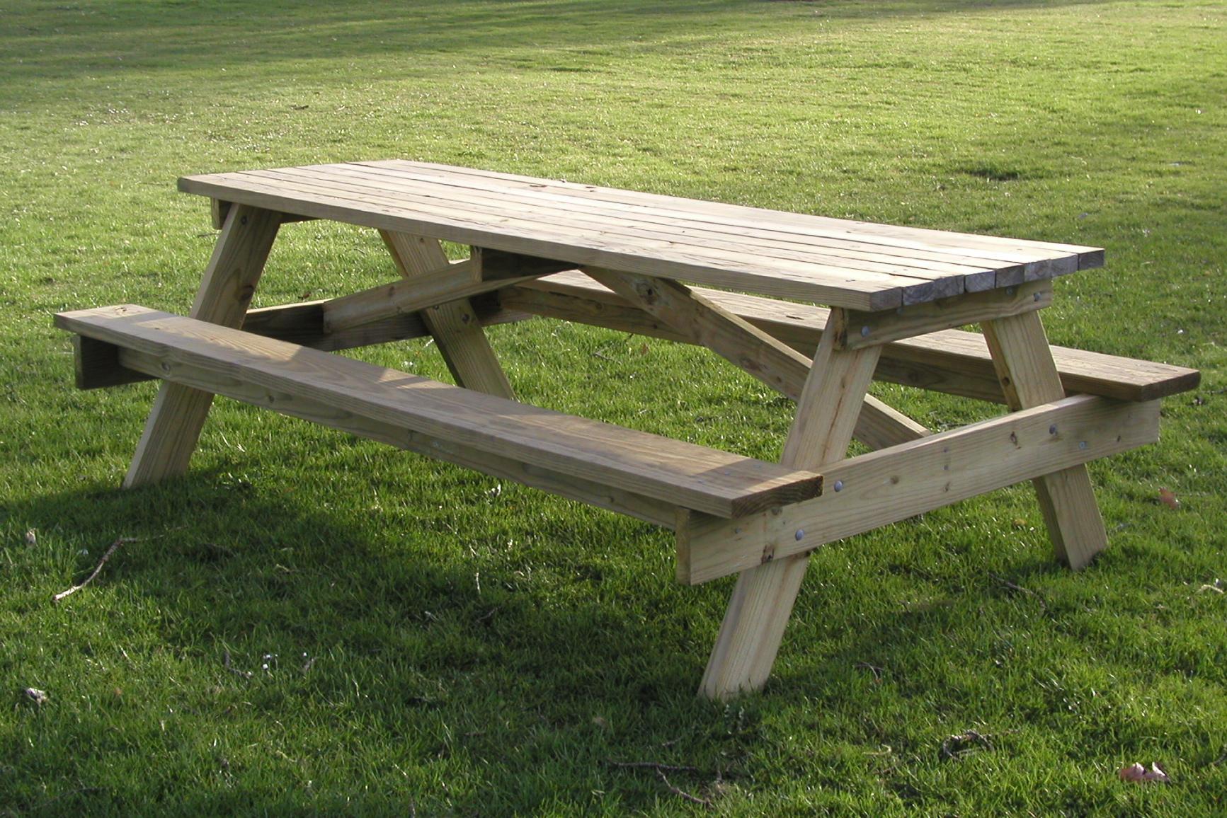 picnic table wikipedia