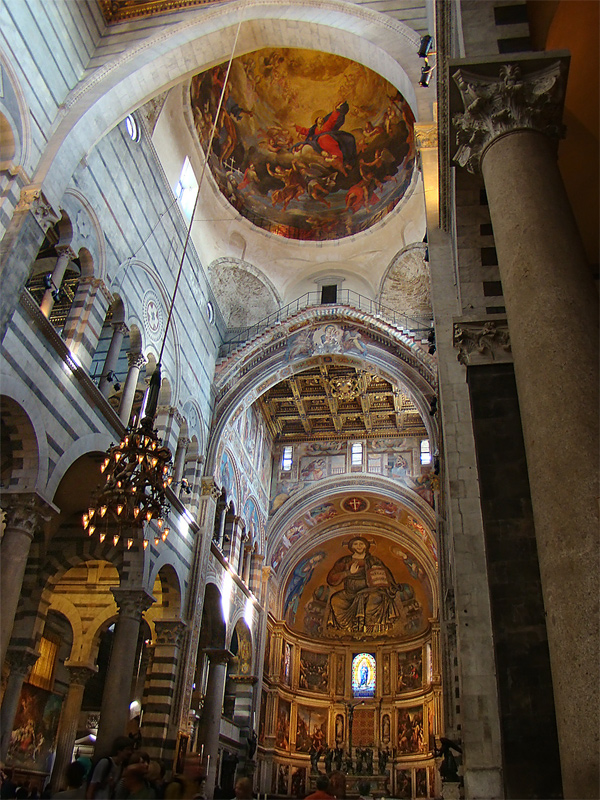 A View Of The Cathedral S Ceiling