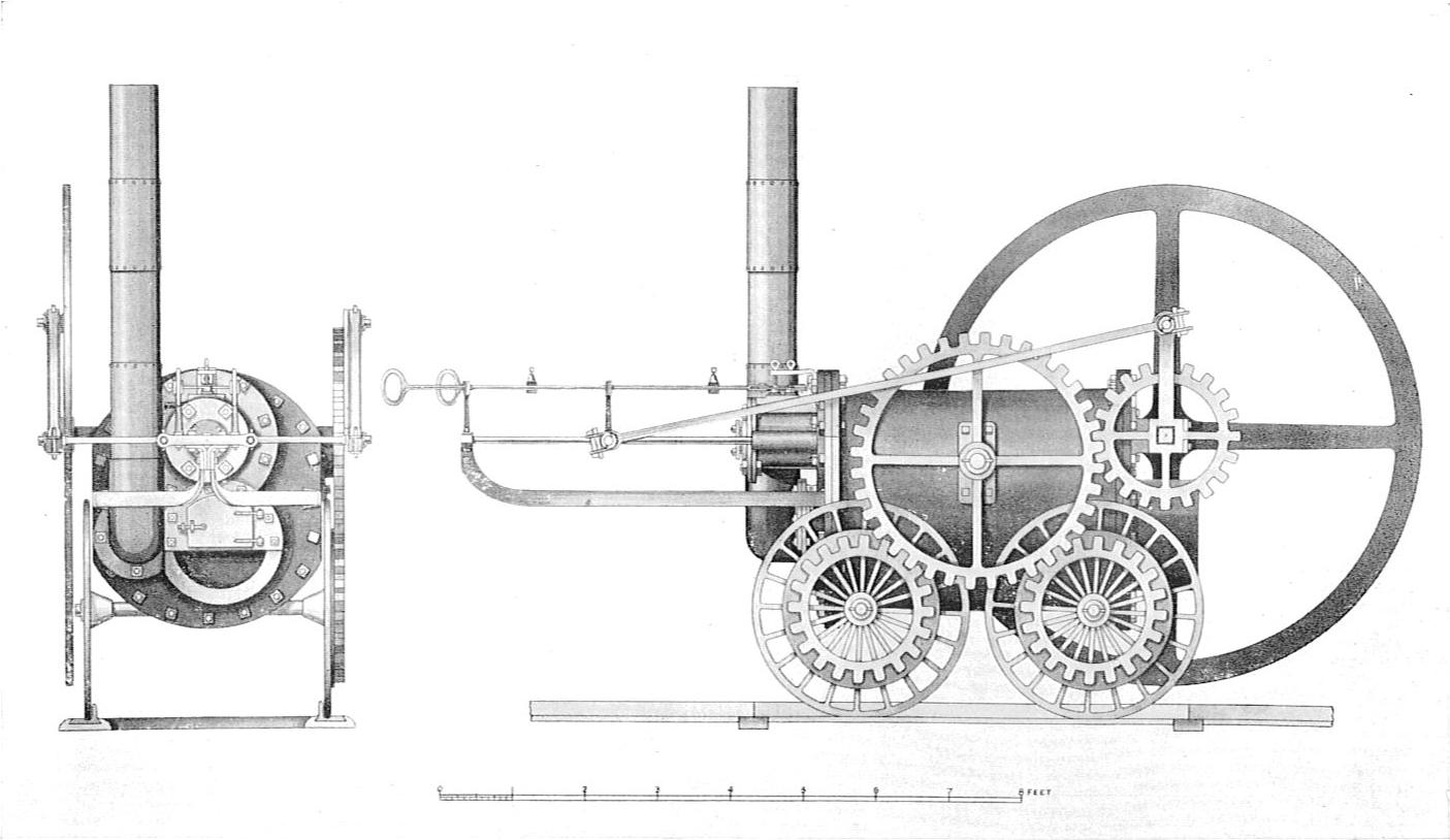 File Trevithick S Coalbrookdale Locomotive British