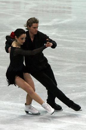 Meryl Davis & Charlie White, Vizeolympiasieger und -weltmeister im Eistanzen 2010, Quelle: Wikipedia