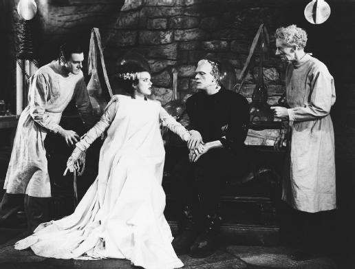 By Trailer screenshot, from DVD Bride of Frankenstein, Universal 2004 [Public domain], via Wikimedia Commons