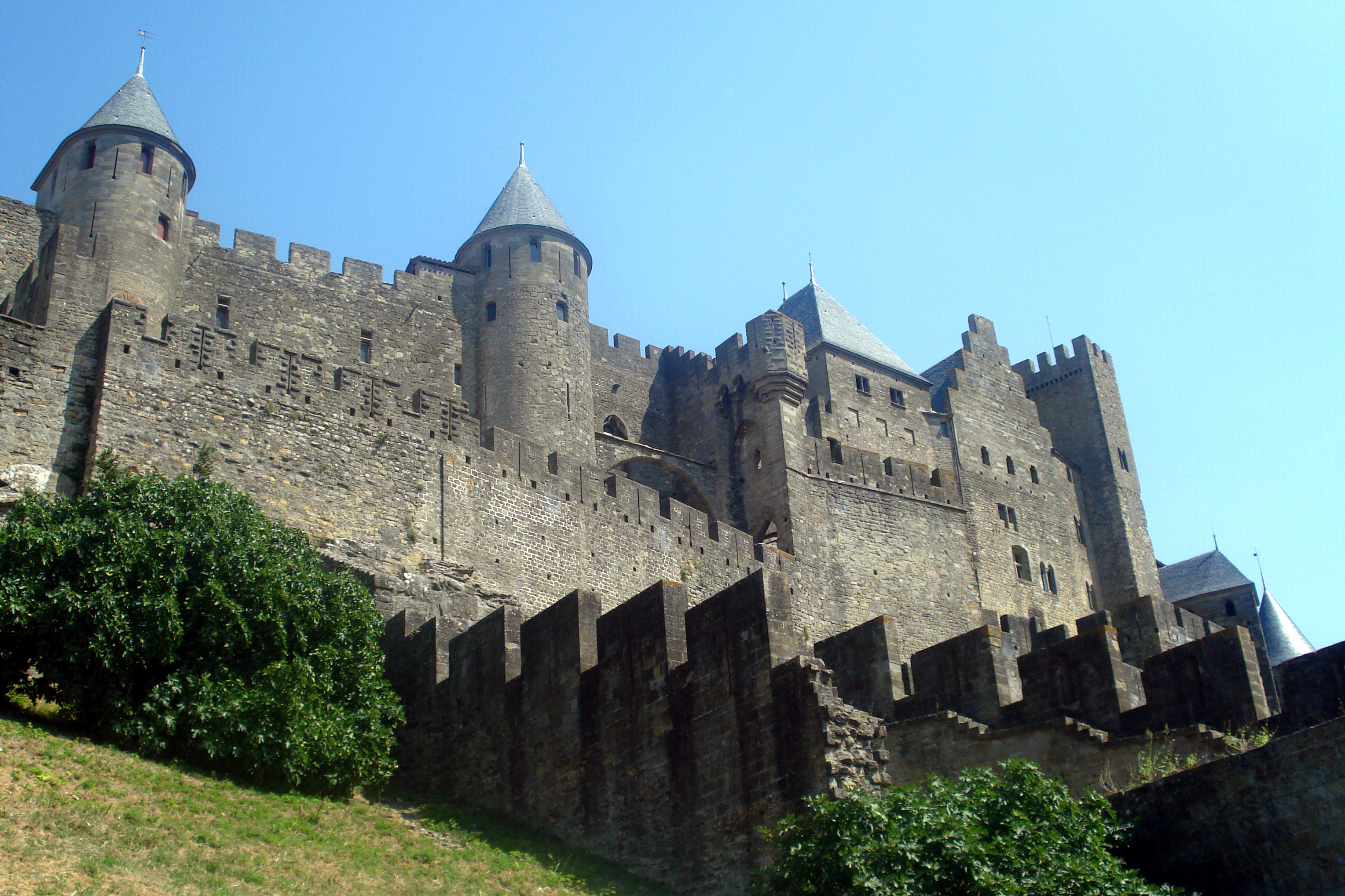 Cité de Carcassonne today.