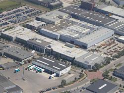 Nederlands: Luchtfoto van Nederlands hoofdkant...