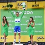 File Maillot Vert A L Arrivee Du Tour De France 2017 A Chambery Jpg Wikimedia Commons