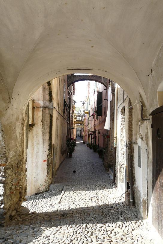 Centre historique de Taggia, Ligurie
