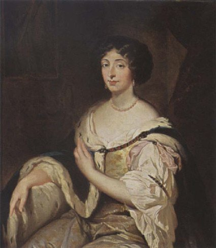 Marie Mancini painted by Constantin Netscher
