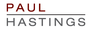 English: Paul Hastings LLP