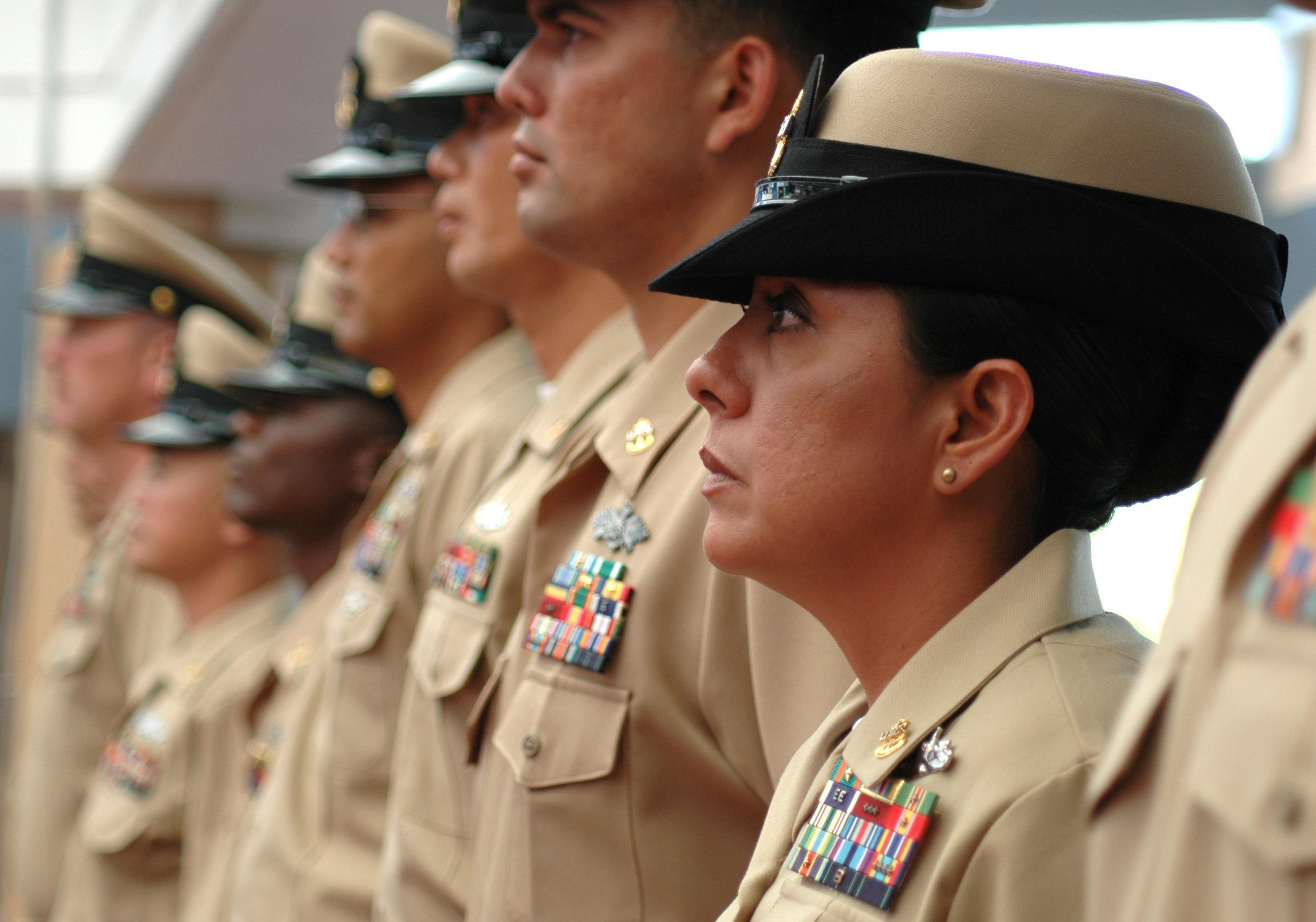 Female Navy Officer Dress Whites