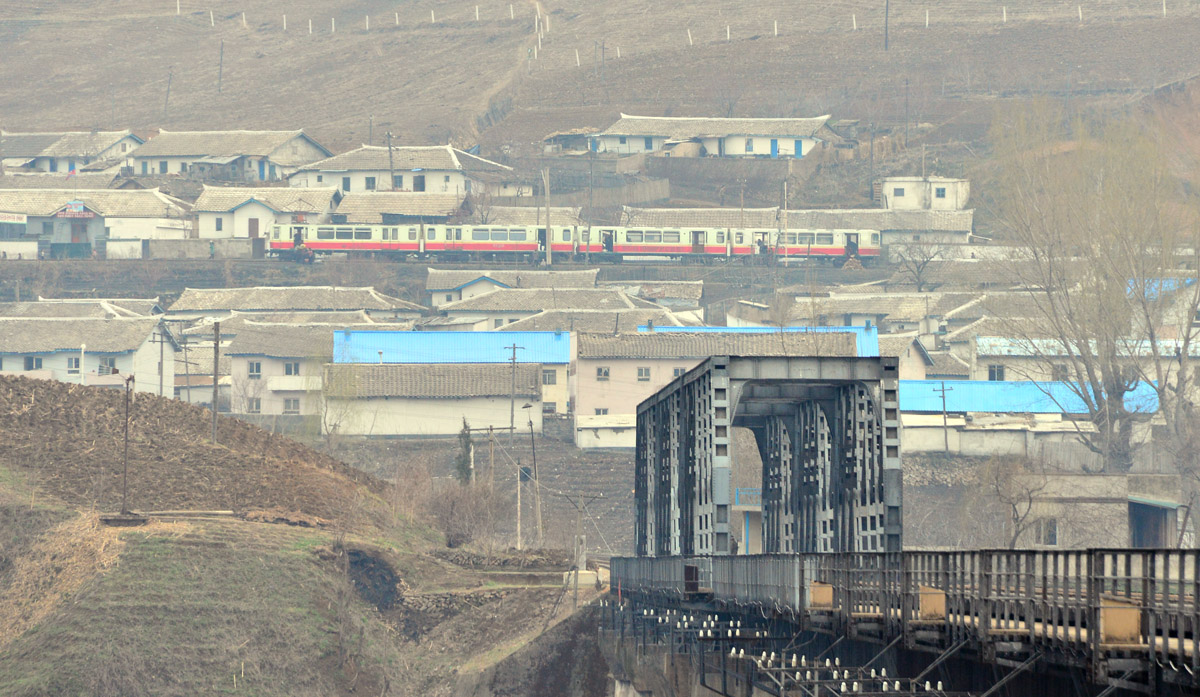 Mampo Bridge - Korean Peninsula