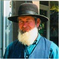 English: Amish man