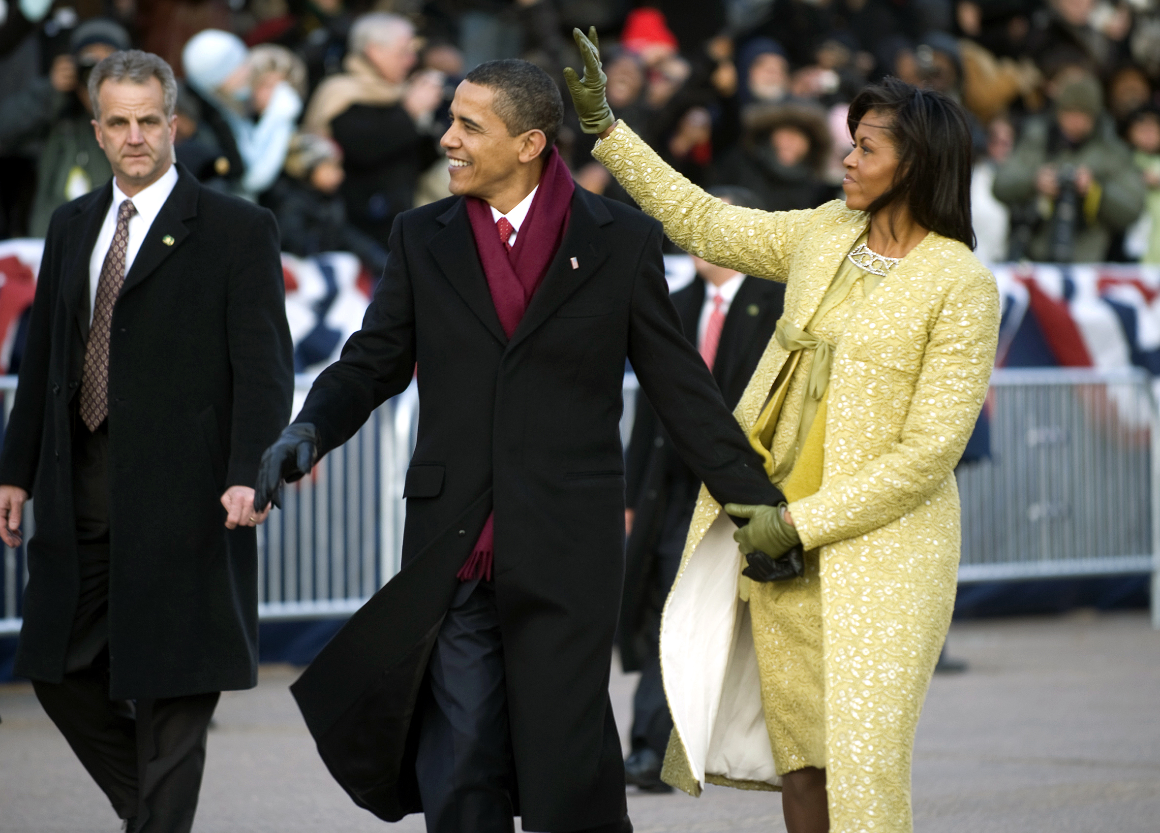 President Barack Obama and first lady Michelle...